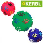 Dog and cat toy no. 05 Paw Ball pink