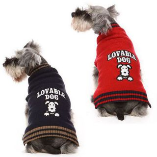 Dog clothes no. 08 American Classic red
