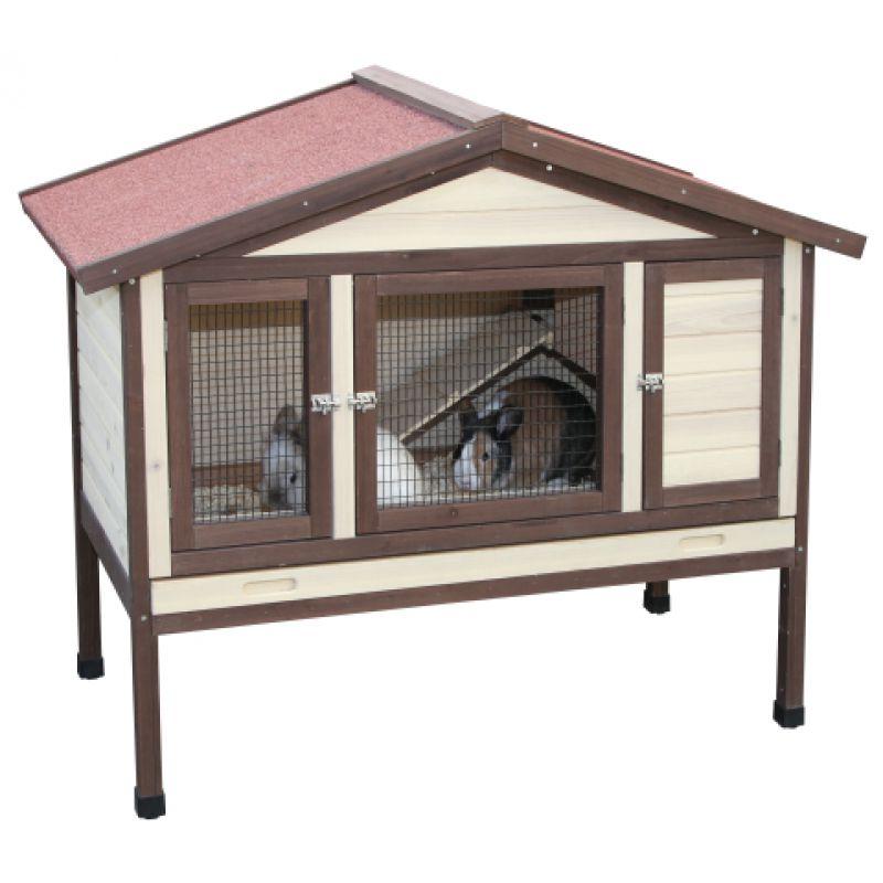 thermo kaninchenstall hasenstall nagerhaus kleintierk fig. Black Bedroom Furniture Sets. Home Design Ideas