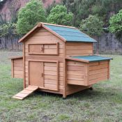 Chicken Coop No. 02  Fortune Coop with egg box