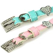 Hundehalsband Nr. 08 Lady Collar Pink S