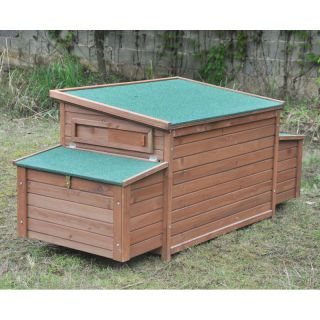 Chicken Coop No. 01 4 Seasons with egg box