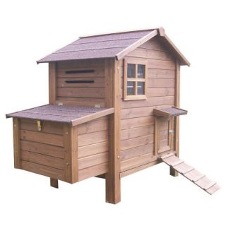 Chicken Coop No. 03 Hen Home with egg box