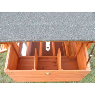 Chicken Coop No. 07 Hen Villa with egg box