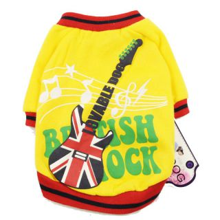 Dog clothes no. 17 Rockn Roll red